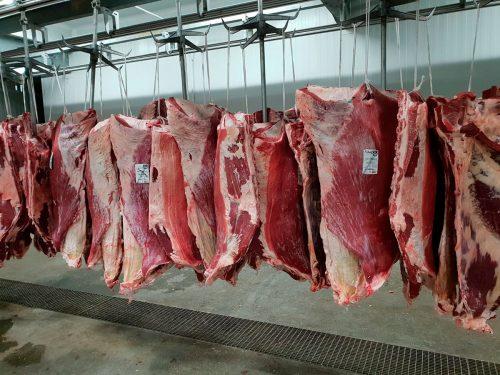 Carne de ternera refrigerada