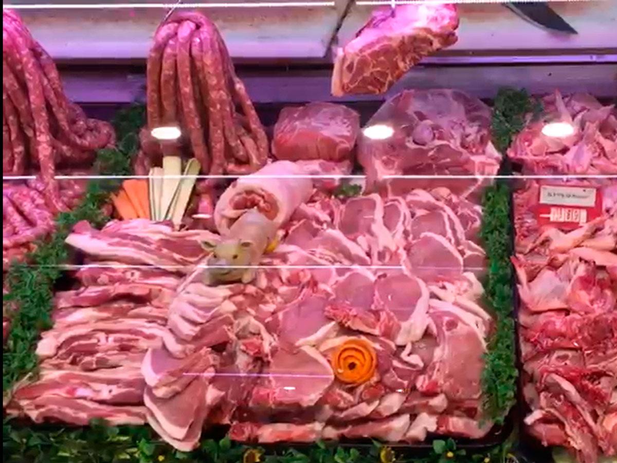 Agricola Puccia muestra de sus productos elaborados